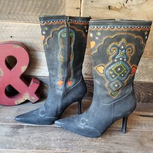Charlie 1 Horse Lucchese Cowgirl Boots 6B